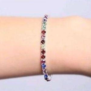 Jewelry - Multicolor Rhinestone Bracelet